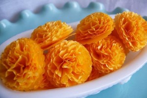 marigold flower for receptions-aptso exports